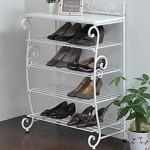 かわいい靴棚