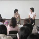 岡津中学校PTA「笑顔が広がる整理収納セミナー」(2012.7)
